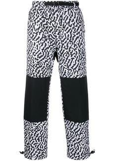 Nike animal print trousers