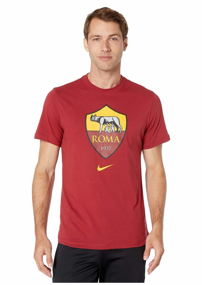 Nike A.S. Roma Evergreen Crest Mock Neck Tee