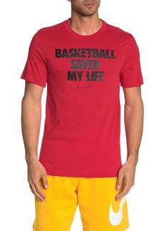 Nike Basketball Saved My Life Graphic T-Shirt