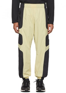 Nike Beige & Black NSW Re-Issue Track Pants