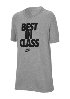 Nike Best in Class Crew Neck T-Shirt (Big Boys)