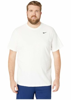 Nike Big & Tall Dry Tee Dri-Fit Cotton Crew Solid