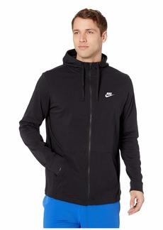 Nike Big & Tall NSW Club Jersey Full Zip Hoodie