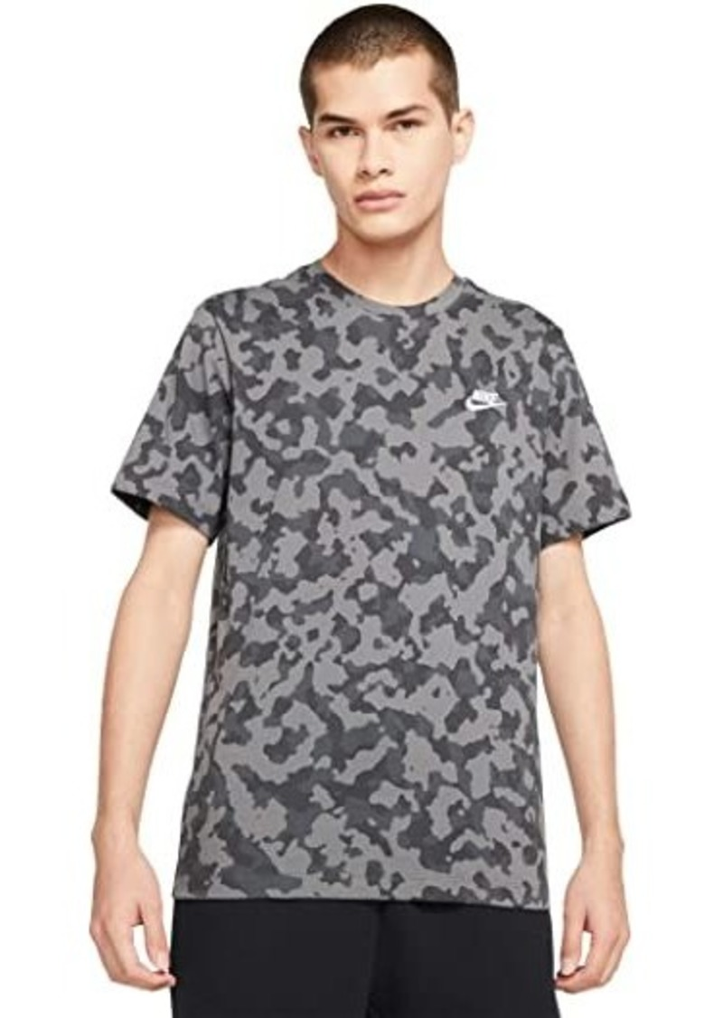 Nike Big & Tall NSW Tee Club All Over Print Hook