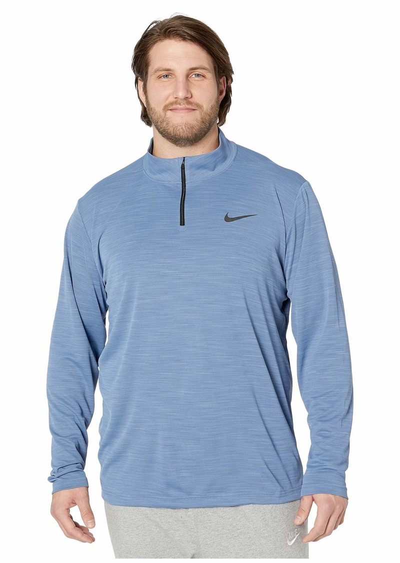 Nike Big & Tall Superset Top Long Sleeve 1/4 Zip