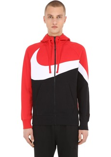 Nike Big Swoosh Zip-up Sweatshirt Hoodie