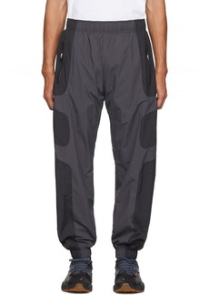 Nike Black & Grey NSW Re-Issue Track Pants