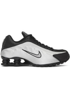 Nike Black & Silver Shox R4 Sneakers
