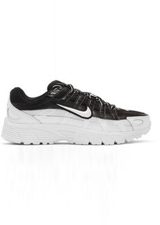 Nike Black & White P-6000 Sneakers