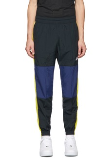 Nike Black & Yellow Re-Issue Woven Track Pants