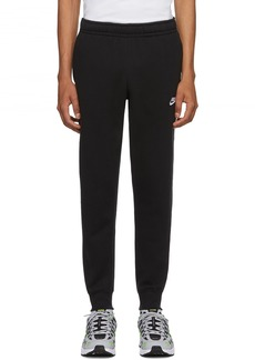 Nike Black Club Jogger Sweatpants
