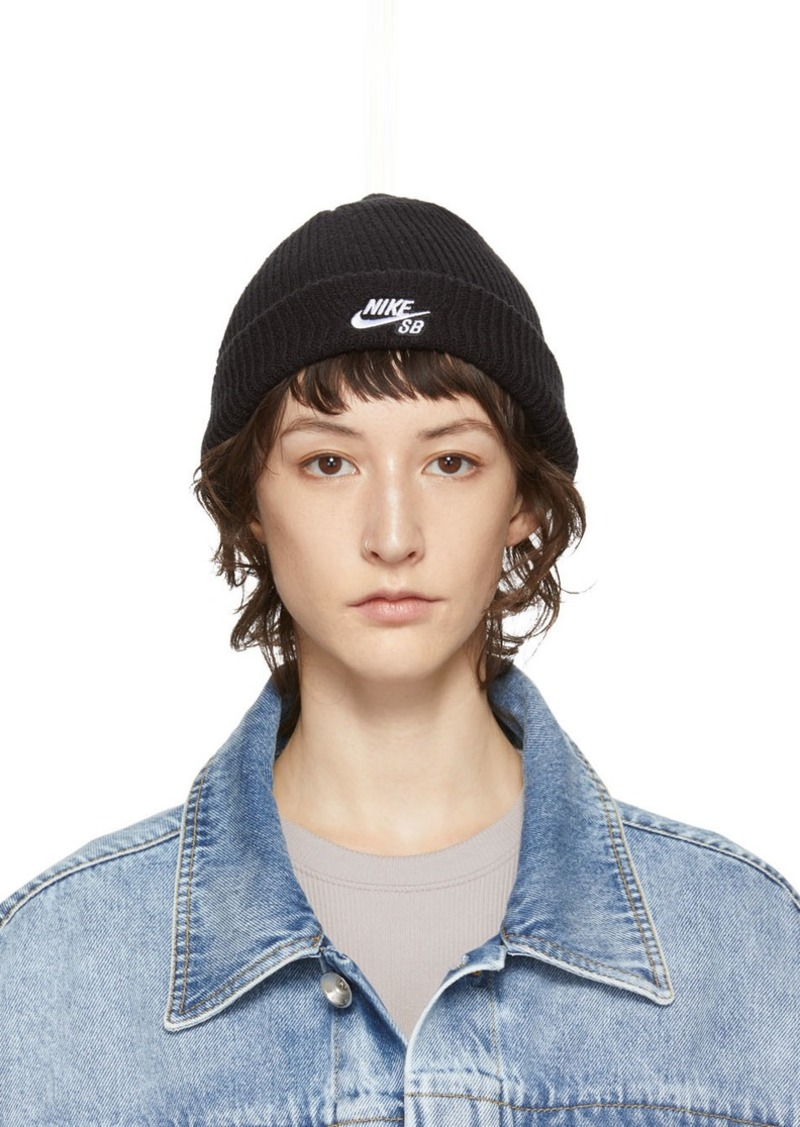 Nike Black Fisherman Beanie