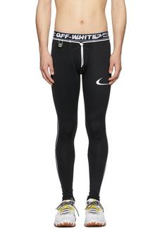 Nike Black Off-White Edition NRG RU Pro Sport Leggings