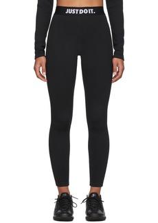 Nike Black Rib Leggings