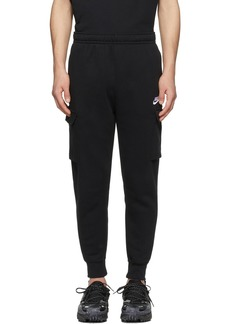 Nike Black Sportswear Club Cargo Pants