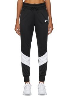Nike Black Windrunner Jogger Lounge Pants