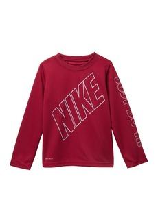 Nike Block On My Level Dri-Fit Tee (Toddler Boys & Little Boys)