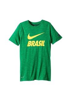 Nike Brasil Dry-FIT Slub Tee (Little Kids/Big Kids)