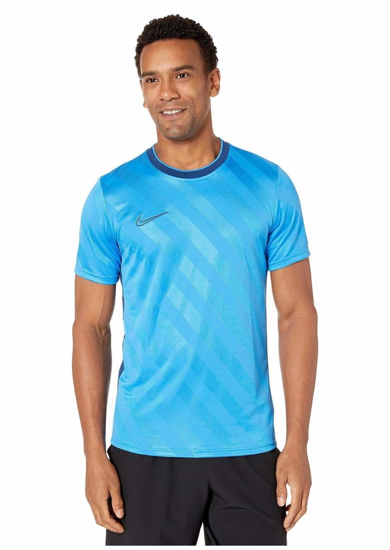 Nike Breathe Academy Top Short Sleeve All Over Print