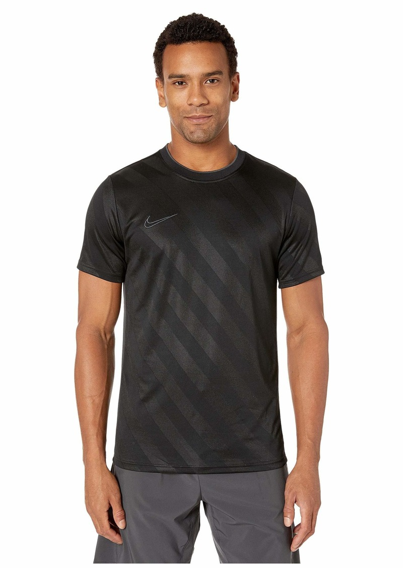 Nike Breathe Academy Top Short Sleeve All Over Print