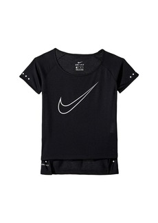 Nike Breathe Short Sleeve Running Top (Little Kids/Big Kids)