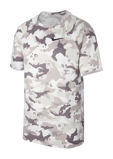 Nike Camo Print Dri-FIT Training T-Shirt
