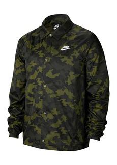Nike Camouflage Print Coaches' Jacket