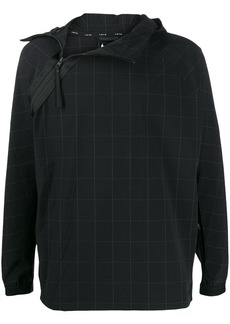 Nike checked pullover jacket