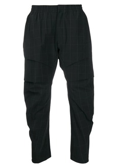 Nike checked trousers