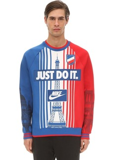Nike City Pack Paris Cotton Blend Sweatshirt