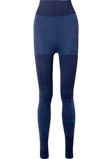 Nike City Ready Dri-fit Jacquard-knit Leggings
