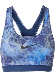 Nike Classic Printed Dri-fit Stretch Sports Bra
