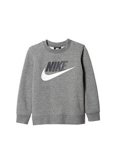 Nike Club Fleece Crew Sweatshirt (Toddler/Little Kids)