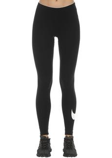 Nike Club Logo Cotton Stretch Leggings