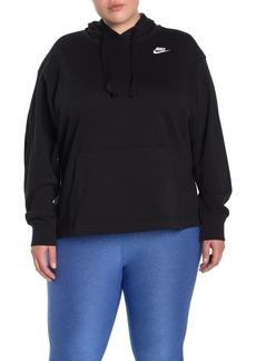 Nike Club Pullover Hoodie (Plus Size)
