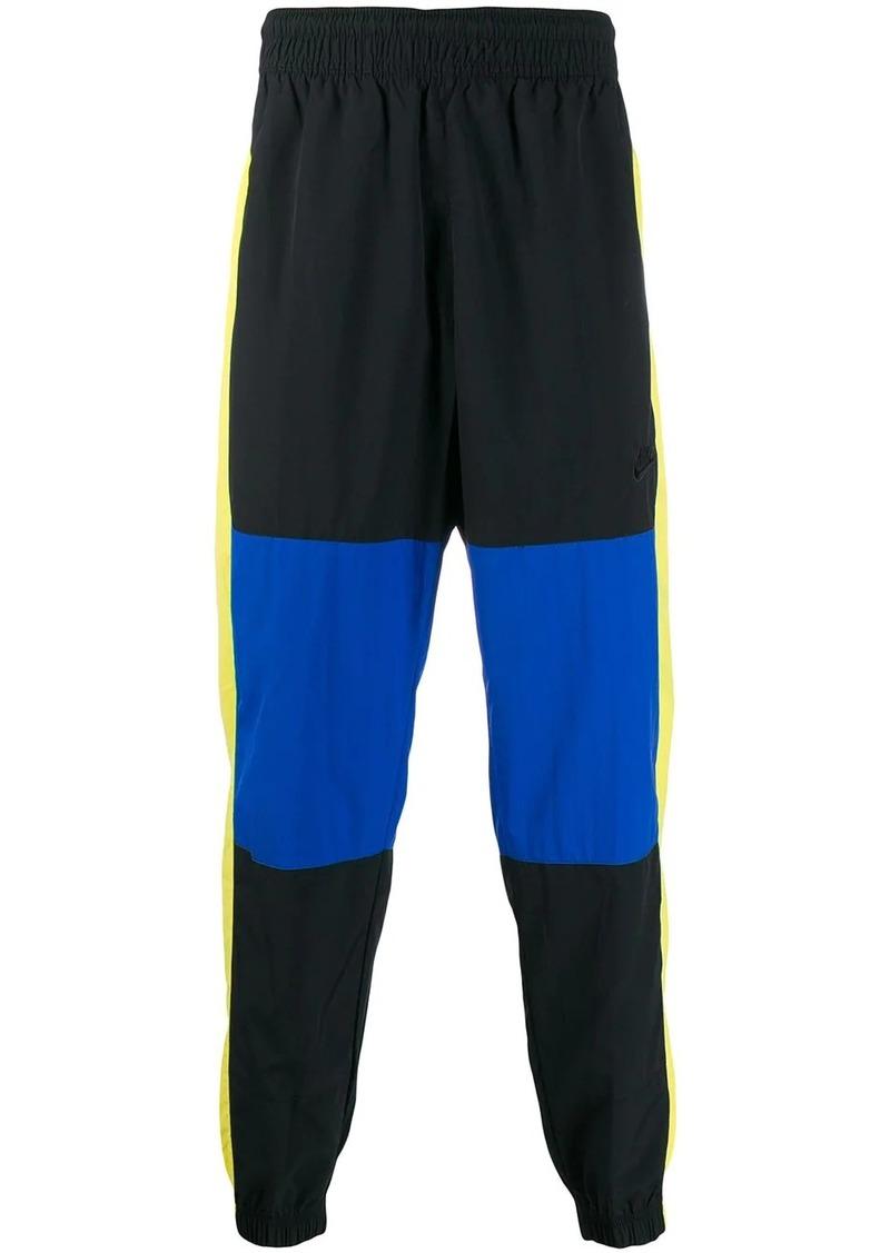 Nike colour block track pants