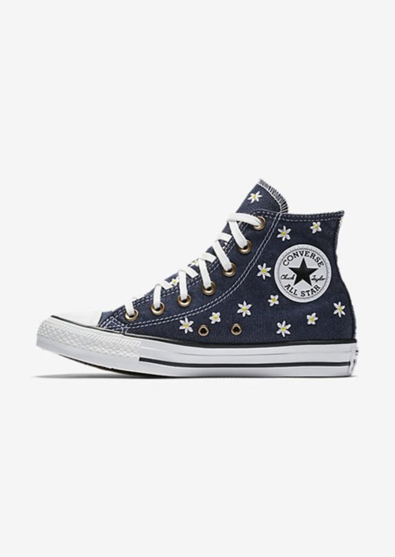 denim converse high tops