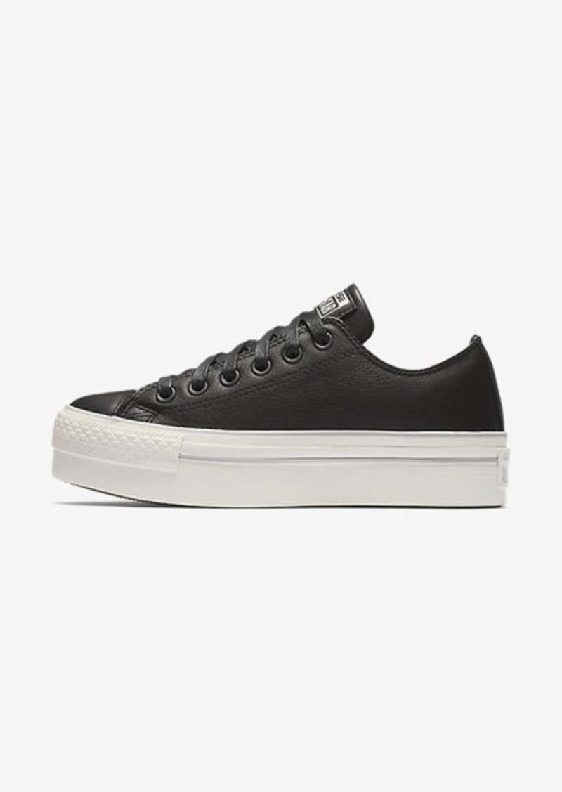 Nike Converse Chuck Taylor All Star Leather Platform Low Top  5664e8d0f