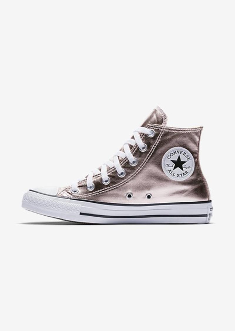 24e8a49487ee Nike Converse Chuck Taylor All Star Metallic Canvas High Top