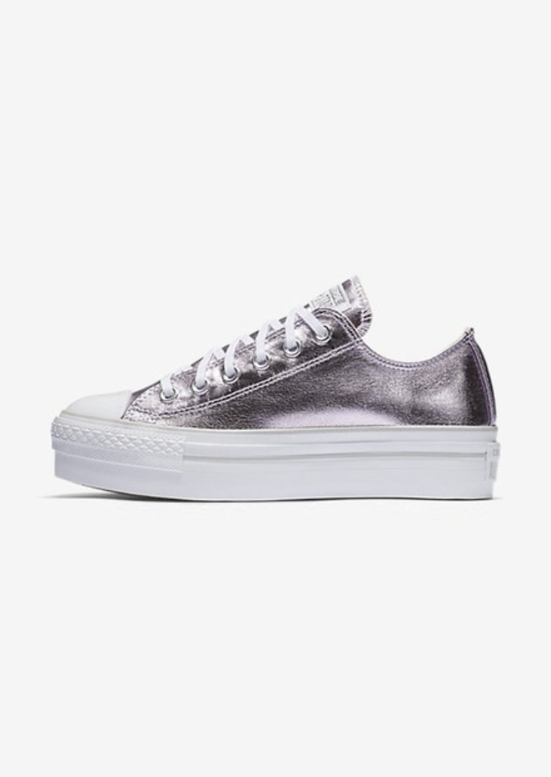 e6c5c7024a1b Nike Converse Chuck Taylor All Star Platform Metallic Low Top