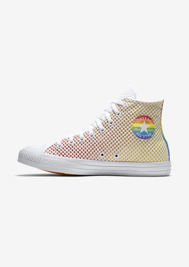 On Sale today! Nike Converse Chuck Taylor All Star Pride Mesh High Top 6b5b5c105