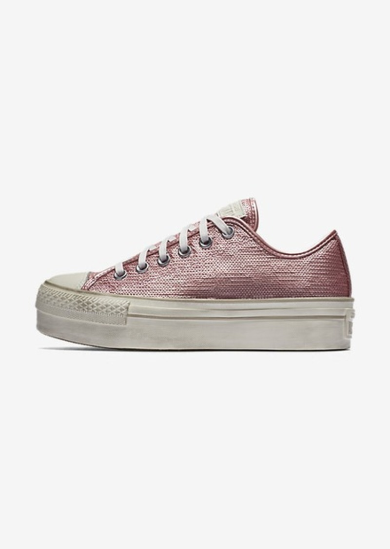 Nike Converse Chuck Taylor All Star Sequin Platform Low Top  c2747a184