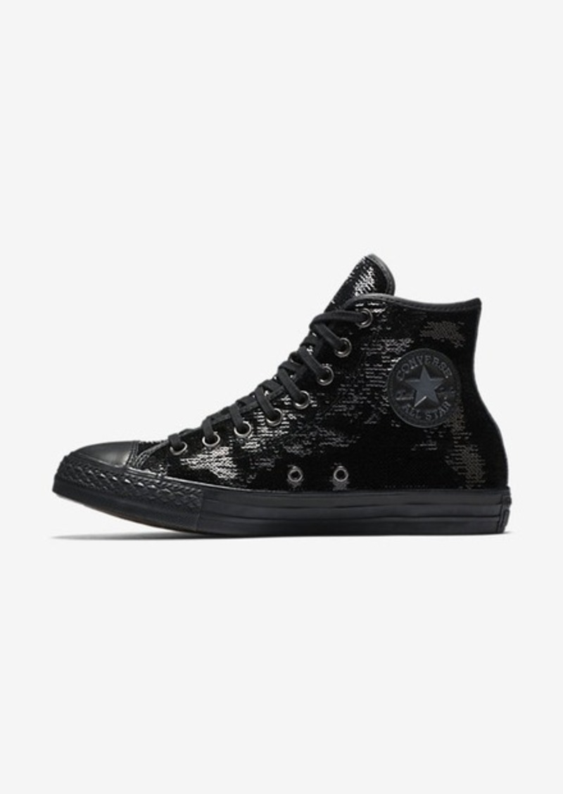 a6e5cff06b69 Nike Converse Chuck Taylor All Star Sequins High Top