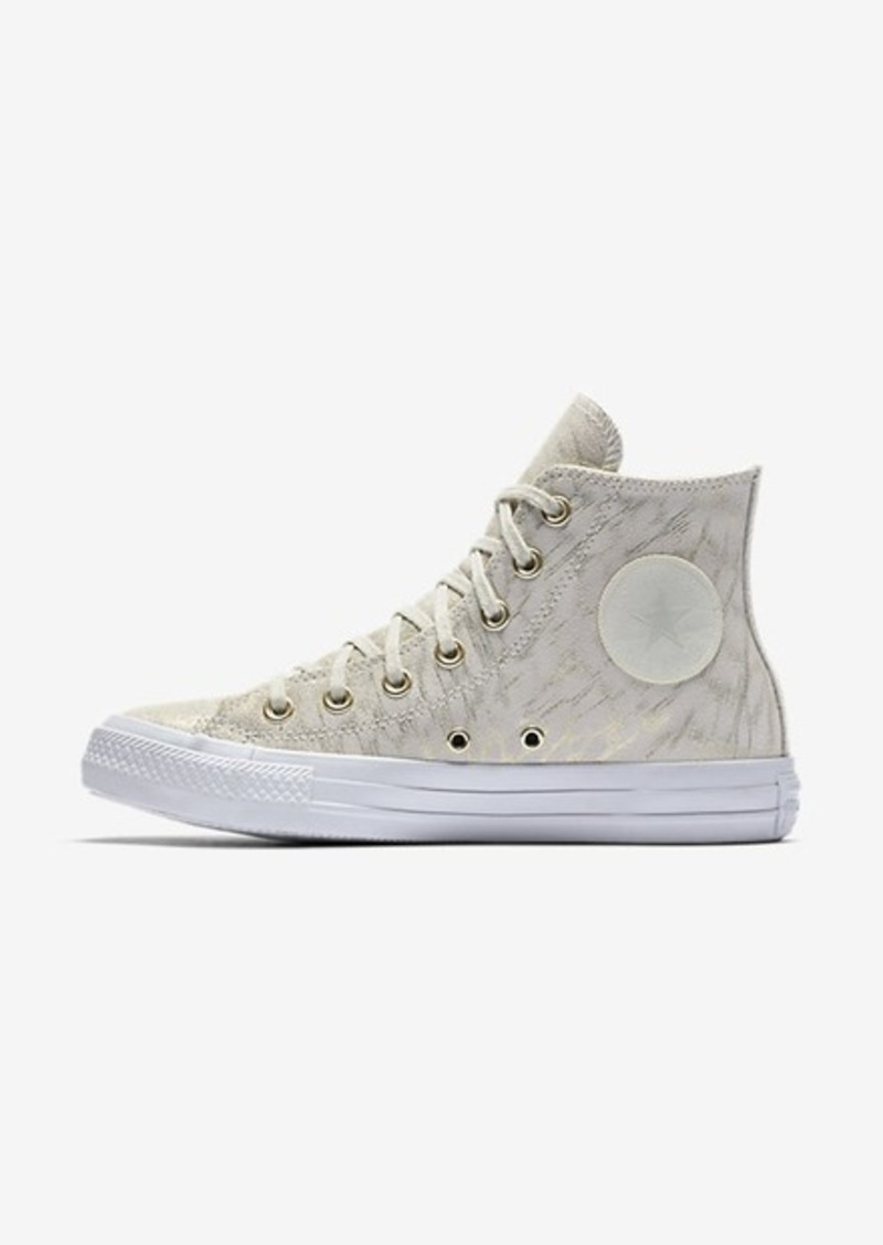031f1704e738 Nike Converse Chuck Taylor All Star Shimmer Suede High Top