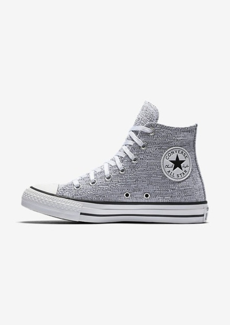 606351c0c805 Nike Converse Chuck Taylor All Star Sparkle Knit High Top
