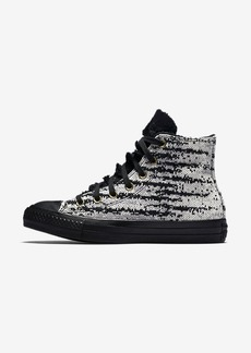 Nike Converse Chuck Taylor All Star Winter Knit and Faux Fur High Top