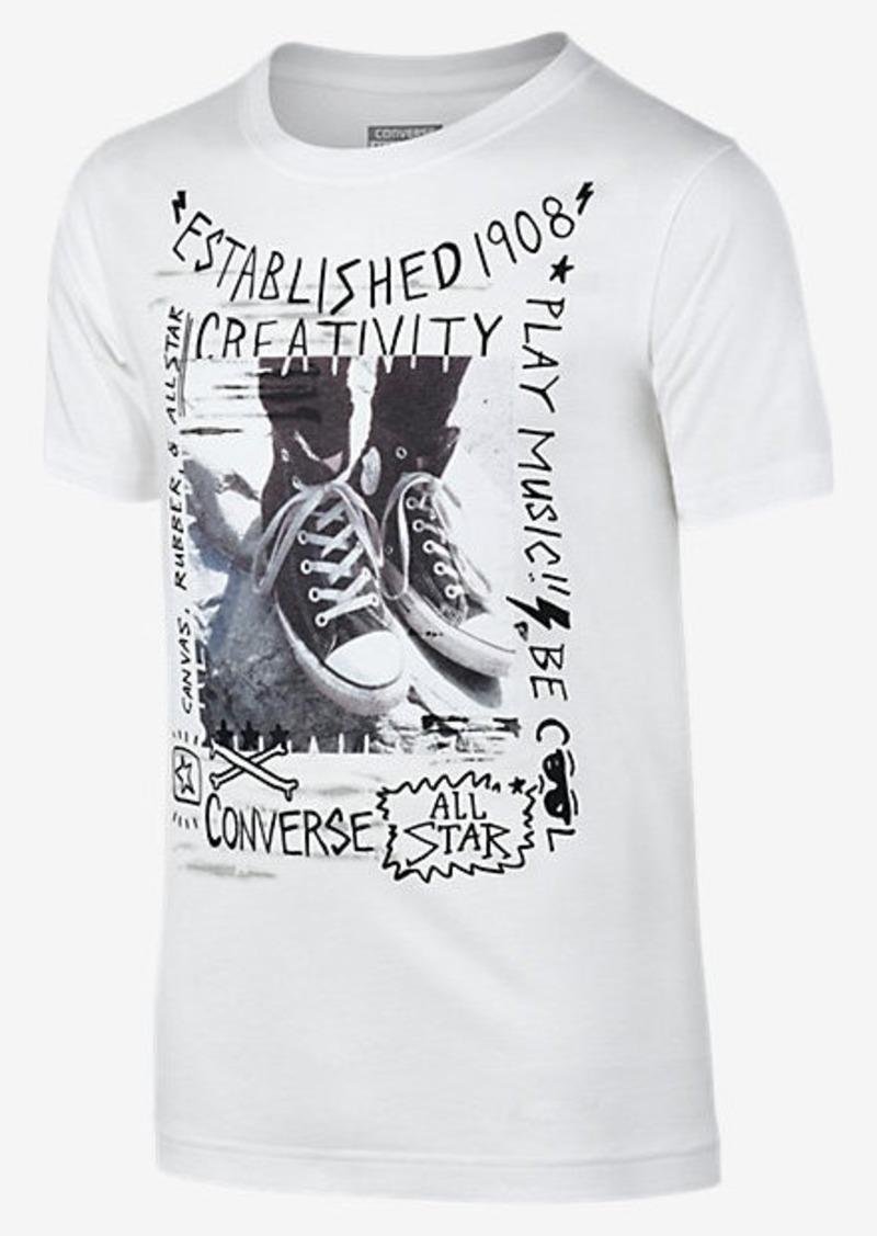 869d57b0a945 Nike Converse Doodle Photo Chucks