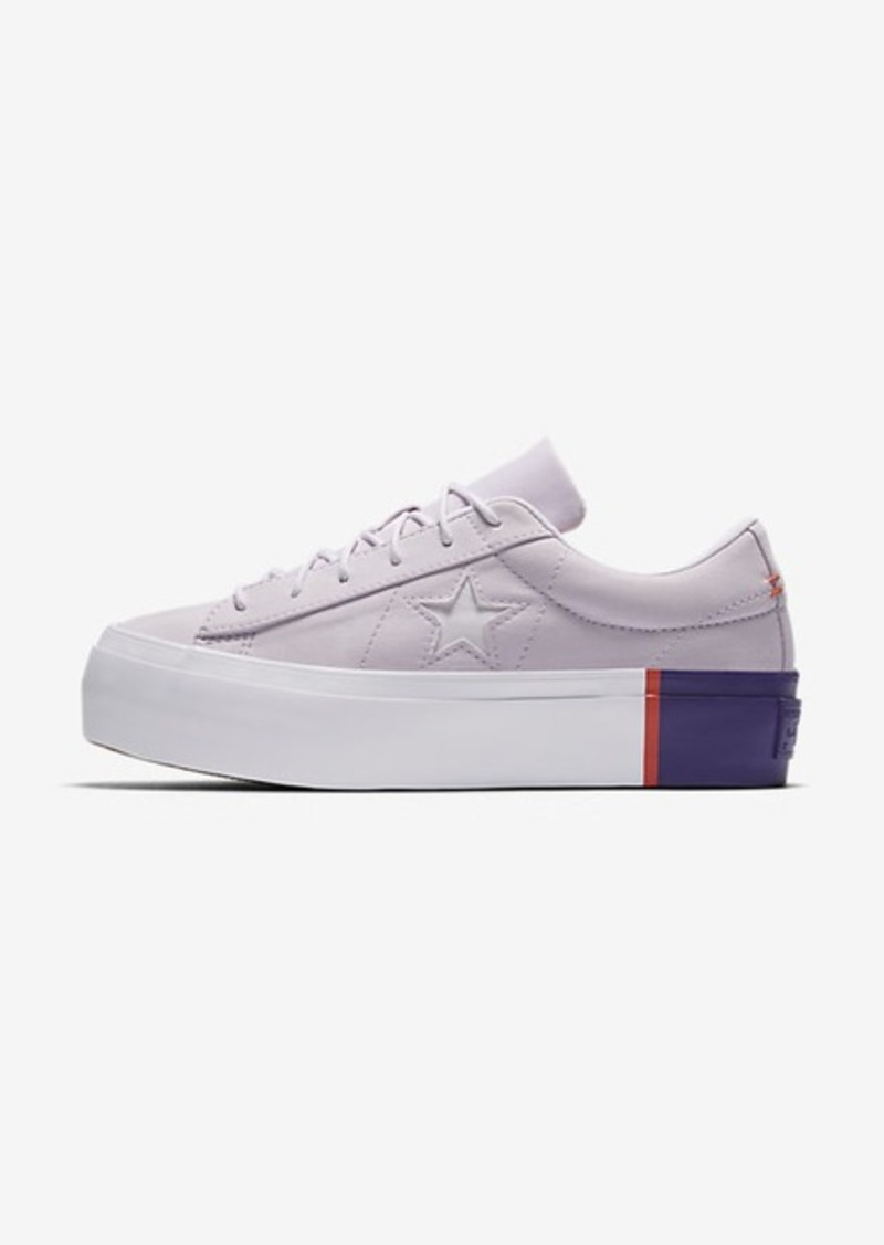 81133651ccf4ff SALE! Nike Converse One Star Platform Blocked Low Top