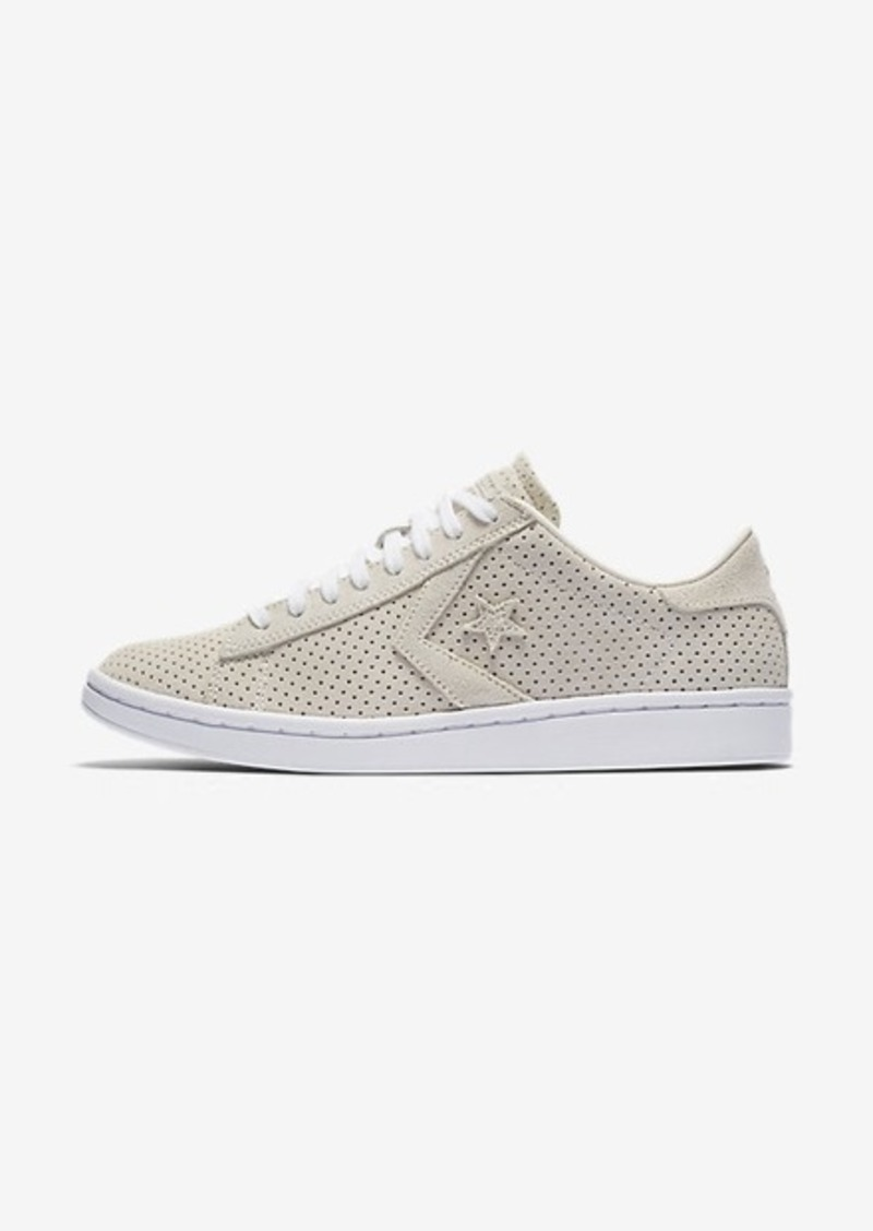 70b16a8be9d3 Nike Converse Pro Leather Perforated Suede Low Top