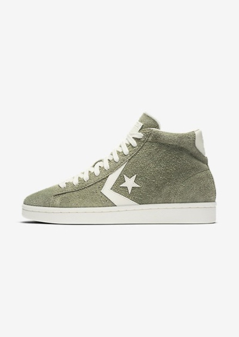 91d948eee3a On Sale today! Nike Converse Pro Leather Vintage Suede High Top